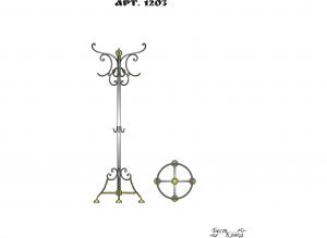 Кованые вешалки - 1203