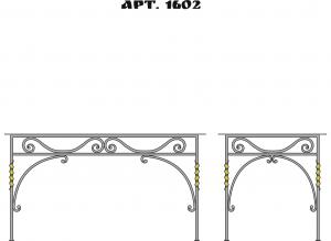 Кованые столы - 1602