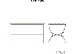 Кованые столы - 1603