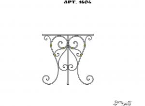 Кованые столы - 1604