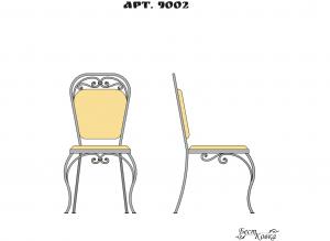 Кованые стулья - 9002
