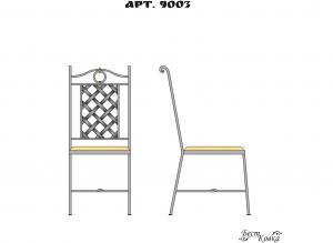 Кованые стулья - 9003