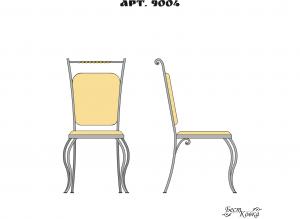 Кованые стулья - 9004