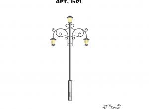 Кованые фонари - 1401
