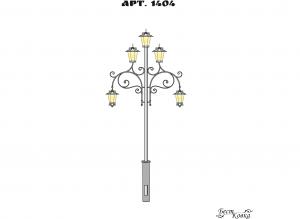 Кованые фонари - 1404