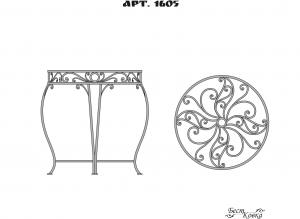 Кованые столы - 1605