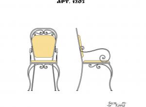 Кованые кресла - 1203
