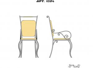 Кованые кресла - 1204