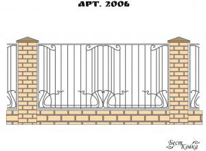 Кованые заборы - 2006