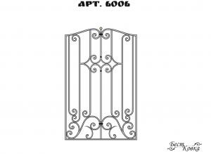 Кованые решетки - 6006