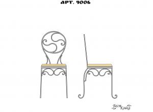 Кованые стулья - 9006