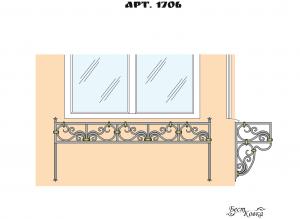 Кованые цветочницы -1706